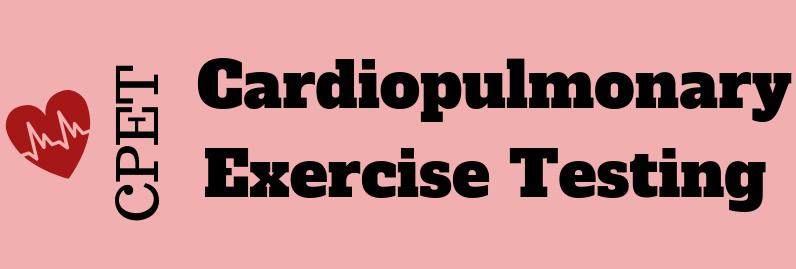 Infographic : CPET – Cardio Pulmonary Exercise Testing