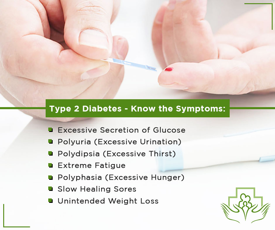 Symptoms of Type 2 Diabetes
